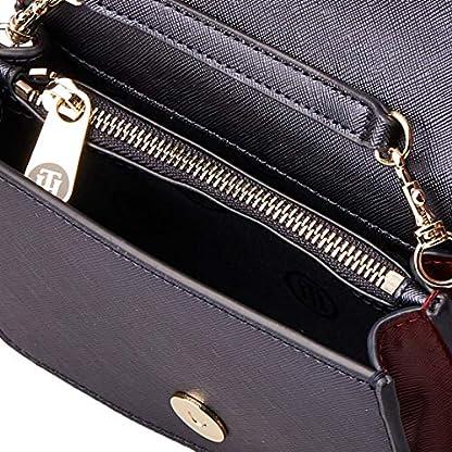 Tommy Hilfiger Damen Honey Belt Bag Cb Umhängetasche, Blau (Tommy Navy Mix), 11.1x17.2x6cm 5
