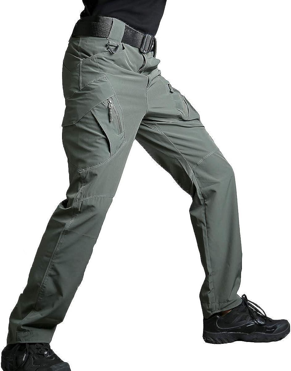 Regatta Mens Trouser Workwear Action Hiking Cargo Lightweight Navy TRJ322