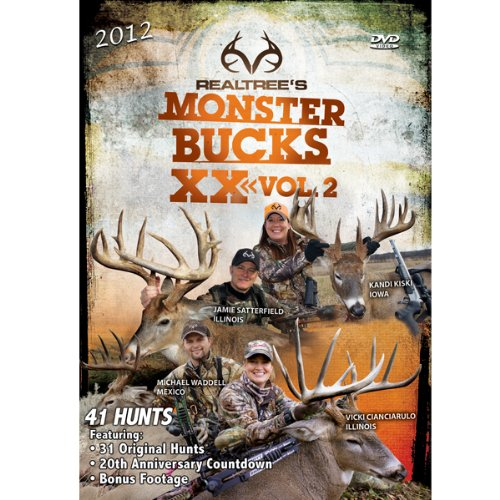 Realtree Outdoor Productions Monster Bucks XX Volume 2 DVD