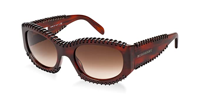 Amazon.com: Burberry anteojos de sol BE 4120 Q 332213 ...