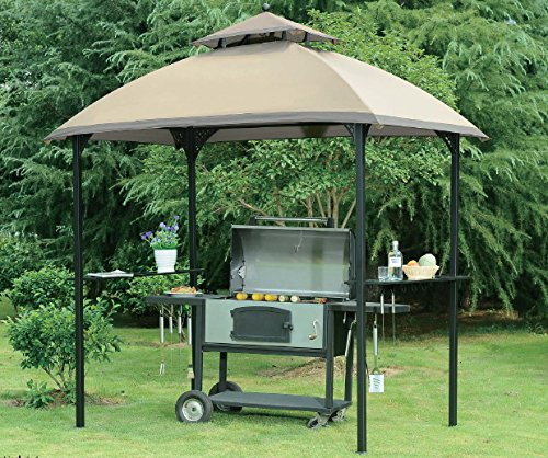 Sunjoy Replacement Canopy for Windsor Grill Gazebo-Canopy Only by Sunjoy