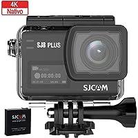 SJCAM SJ8 PLUS Wi, Fi 4K Aksiyon Kamera, Siyah