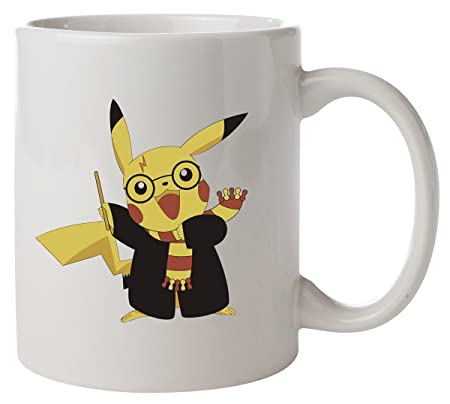 Parody Pokemon Mug Harry Potter Pikachu Tul5FKc31J