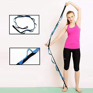 Amazon.com: Correa de Yoga para estirar, terapia física ...