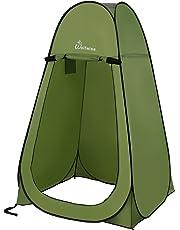 WolfWise Tenda ad Apertura Istantanea Pop-Up Campeggio Spiaggia Bagno Spogliatoio Doccia Riparo Privato all'Aperto Verde