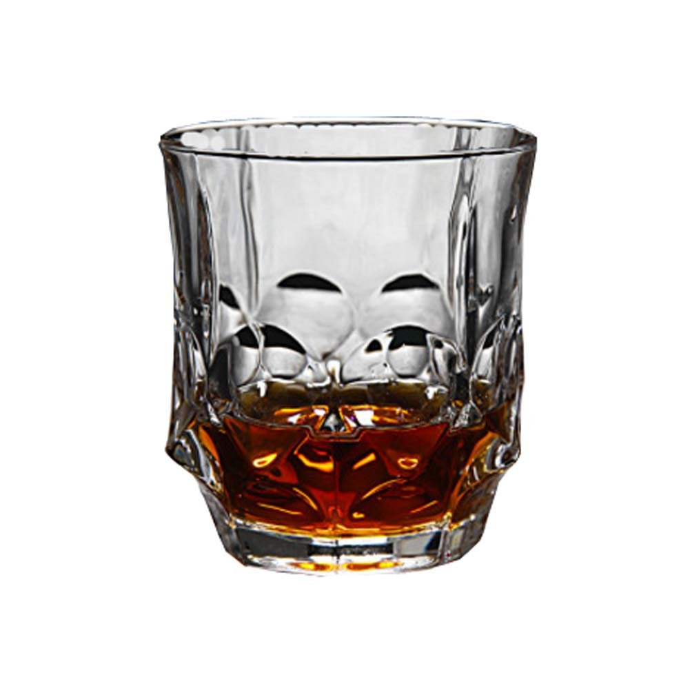 Transparent Drinking Cup Whiskey Glass Wine Cup Unique Design,A3