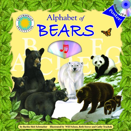 Alphabet of Bears - A Smithsonian Alphabet Book (with audiobook CD, and poster) (Alphabet Books) by Soundprints Corp Audio
