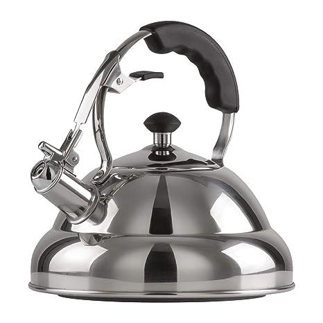 Amazon.com: Chefs Secret tetera de acero inoxidable, Acero ...