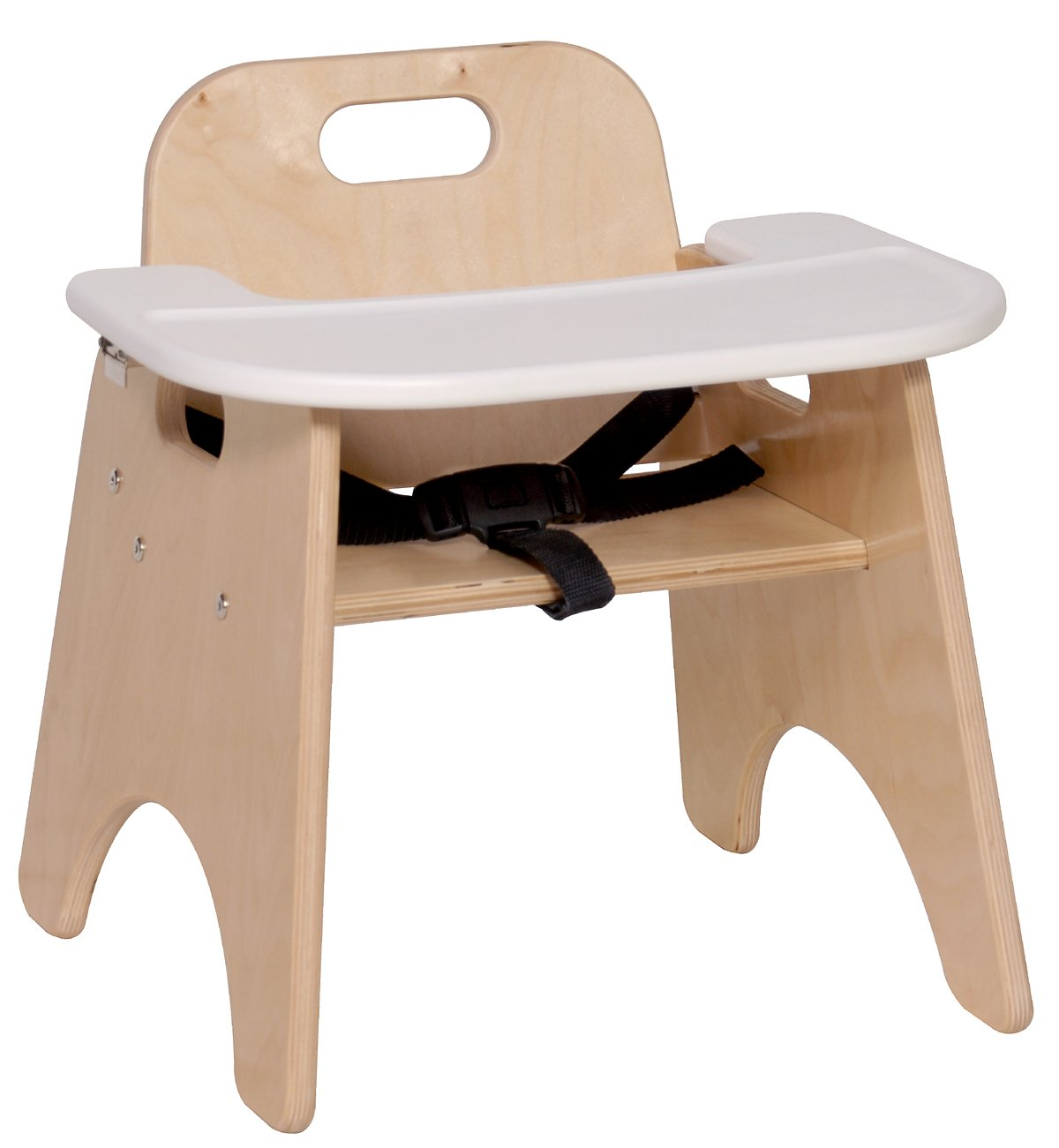 amazoncom steffy wood products 9inch high chair with tray kitchen u0026 dining
