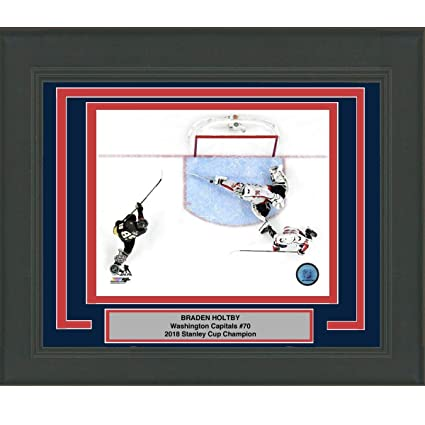 ce1f8184c0f Image Unavailable. Image not available for. Color  Framed Braden Holtby Save  Game 4 Washington Capitals 2018 Stanley Cup Champions 8x10 ...