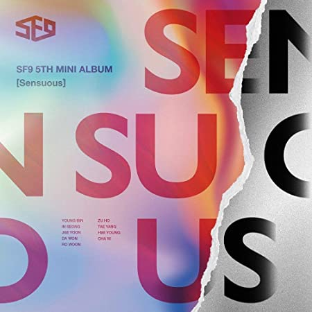 Kakao M SF9 - Sensuous [Exploded Emotion ver.] (5th Mini Album) CD+Booklet+Photocards: Amazon.fr: Cuisine & Maison