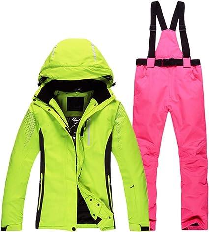 IFUEN Manteau Ski Costumes De Ski pour Les Hommes Et Les