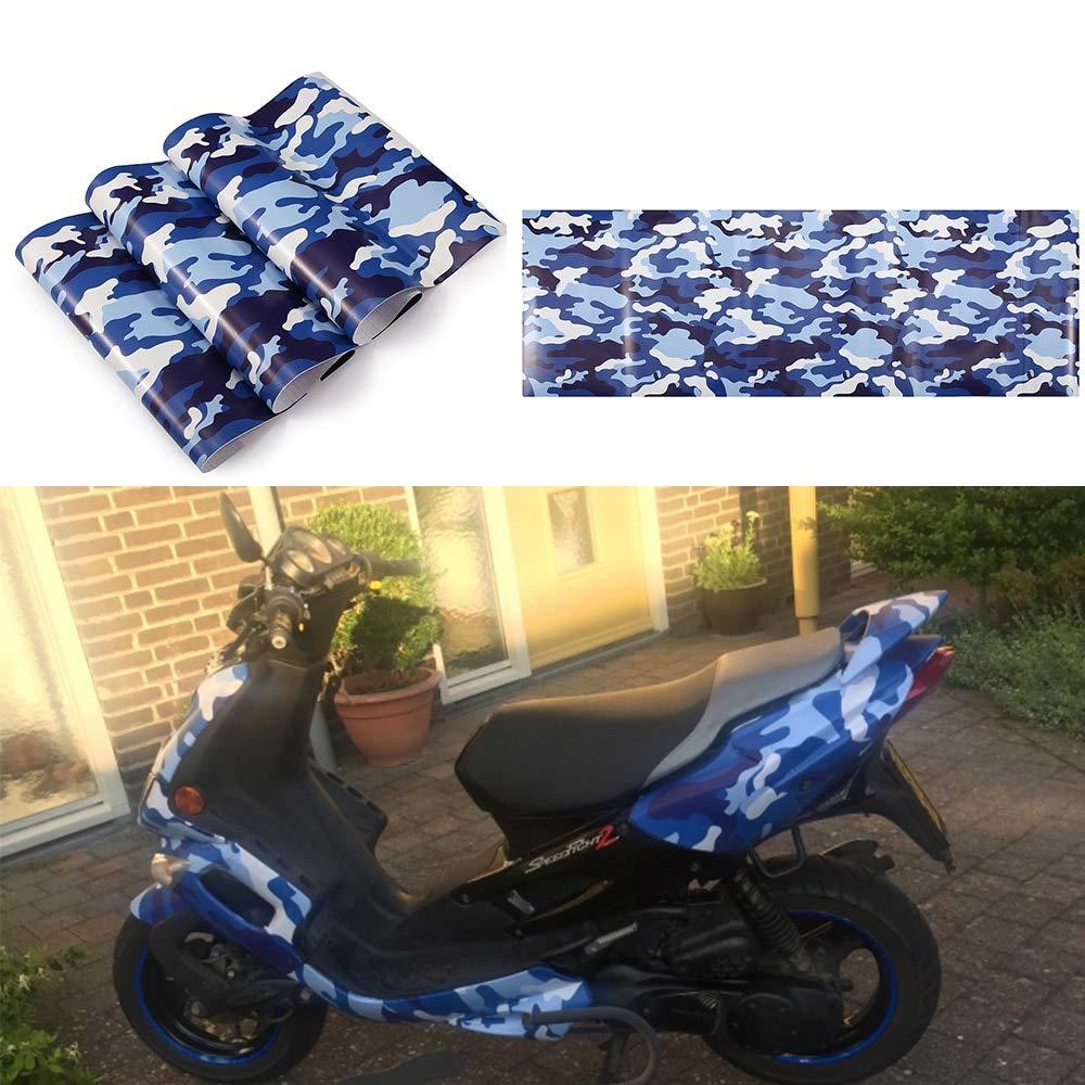 Sticker Film Sheet Camo Vinyl Wrap Car Motorcycle Decal Mirror Phone Laptop Diy