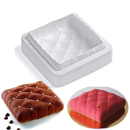 Joyeee Antiadherente de Molde para Torta de Silicona, Molde para Hornear en Forma de 3D