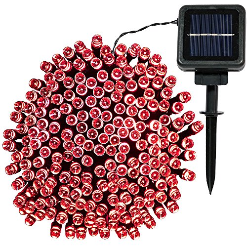 Red Solar Lights - 5