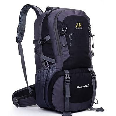 40L Sac de randonnée Travel Backpack Grande randonnée pédestre Alpinisme Sac de bagage pour les voyages en plein air Escalade Camping