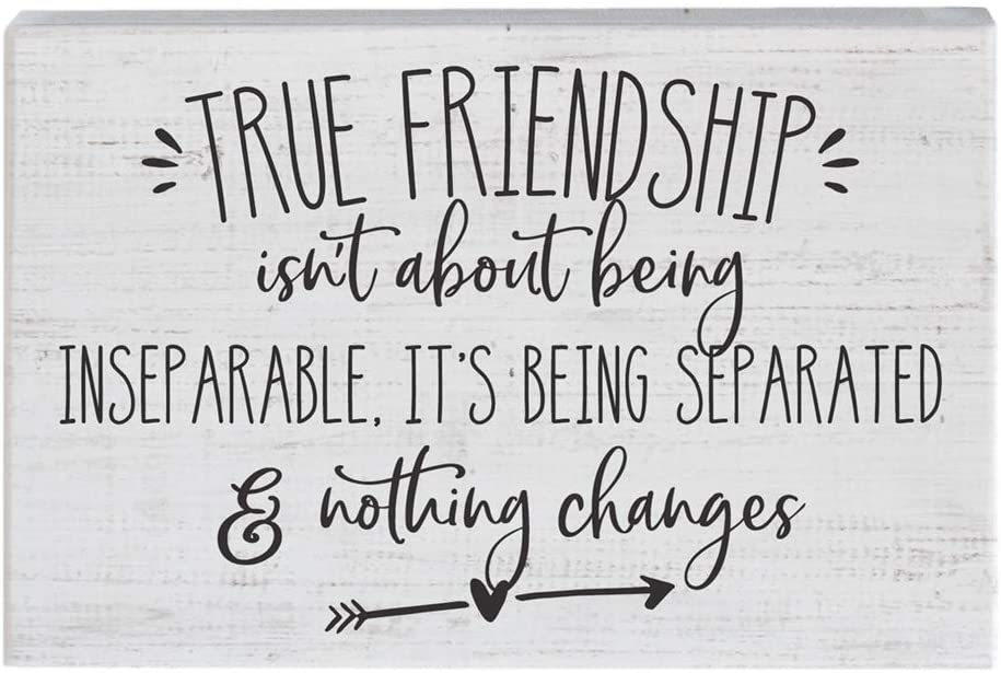 Simply Said, INC Small Talk Sign - True Friendship