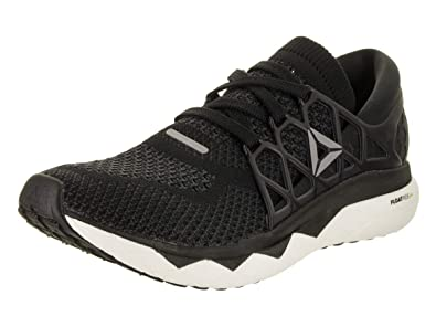 Reebok Men s Floatride Run ULTK Black Gravel White 7 ... 93eefaa5a