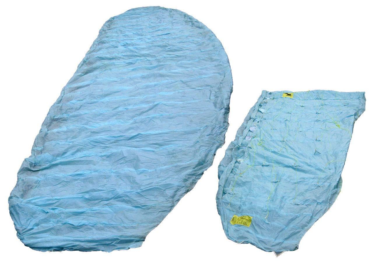 Unbekannt Matratzenfallschirm Hellblau Gebraucht Sichtschutz