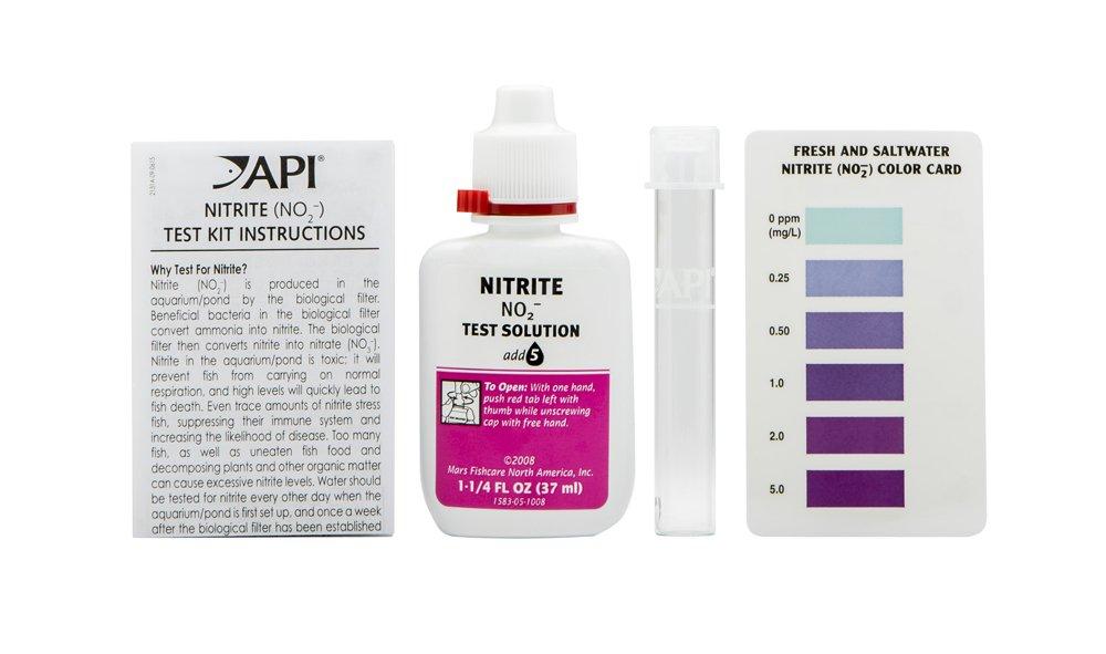 amazon com api nitrite test kit 180 test freshwater and saltwater