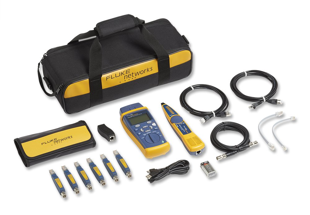 Fluke Networks CIQ-KIT CableIQ Network Cable Tester Kit with Tone Generator