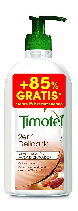 Timotei 2 en 1 Champú Delicado con Almendras - 0,75 l: Amazon.es: Amazon Pantry
