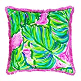 Lilly Pulitzer Indoor/Outdoor Decorative Pillow (Large, Painted Palm)