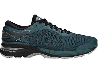 ASICS Men's Gel Kayano 25 Running Shoes, 9M, IRONCLADBlack