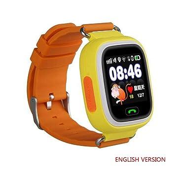 GPS Q90 - Reloj Inteligente para niños, antipérdida, de ...
