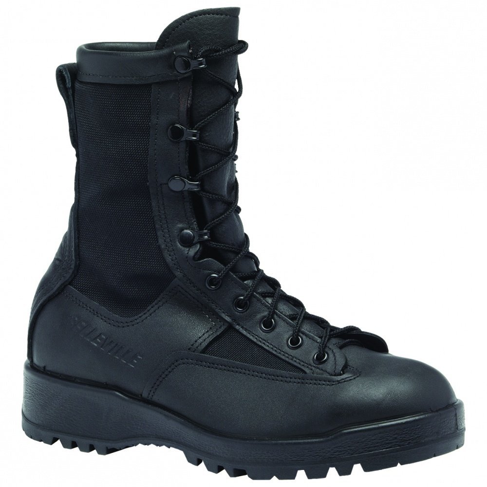 Belleville 700V WP Black Combat Flight Boots Men's B002757Z40 3.5 R|Black