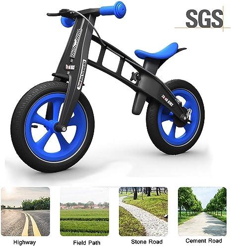 RISILAYS Bicicleta Equilibrio para Niños | Bicicleta Sin Pedales ...