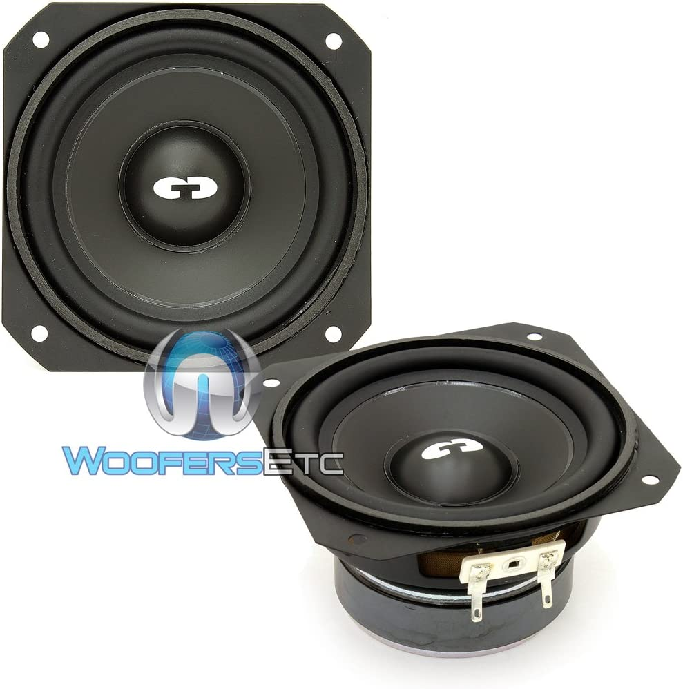 Pair CDT Audio Classic 4 50W RMS Mid-Bass Woofers CL-4