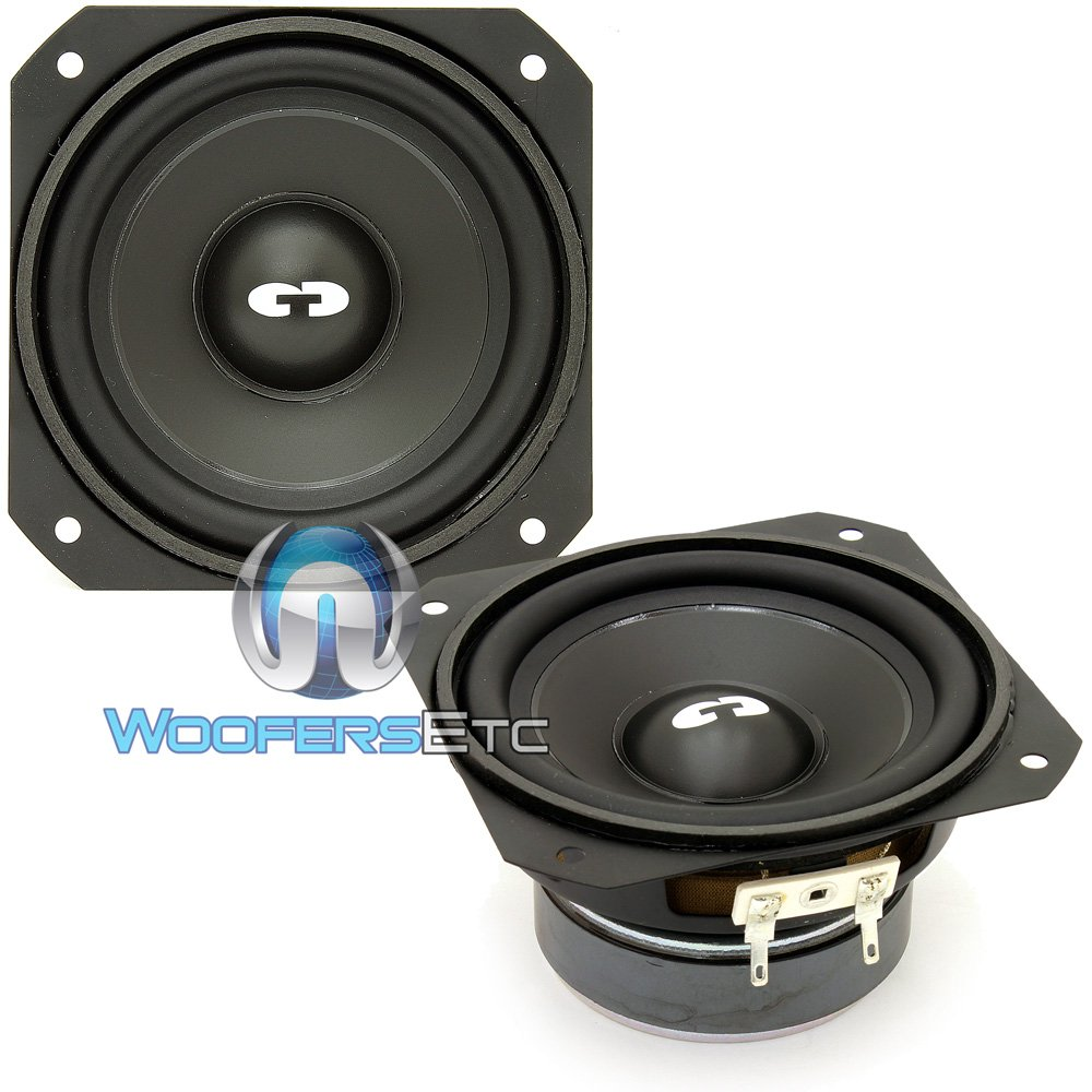 CL-4 - CDT Audio Classic 4'' 50W RMS Mid-Bass Woofers (PAIR)