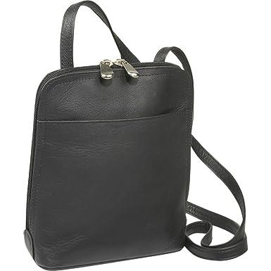 Amazon.com  Le Donne U-Zip Mini Crossbody Bag c34db88e6d34e