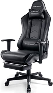 GTRACING Gaming Chair with Footrest Racing Chair Heavy Duty E-Sports Chair for pro Gamer