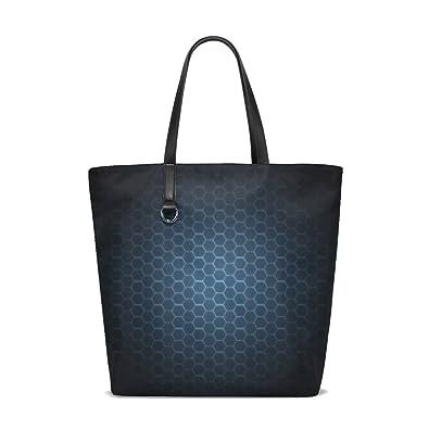 Amazon.com: Textura de fondo oscuro patrones bolsa bolso de ...