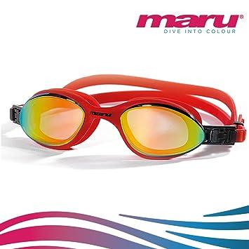 Gafas de natación – Maru Ace antiniebla nadar gafas para hombres o mujeres – Abierto agua