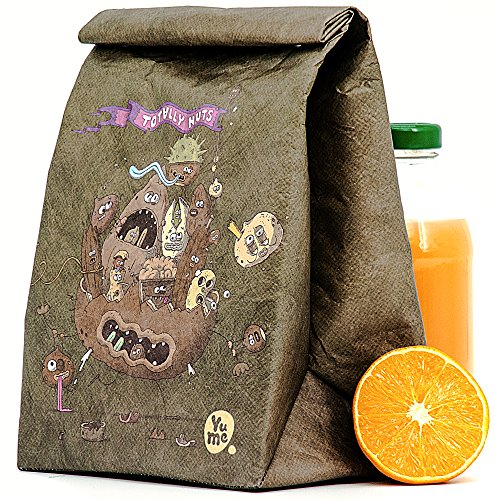 Yume Insulated Lunch Sacks For Kids   Lunch Box Bags For Girls   Childrens Reusable Lunch Sacks  Totally Nuts