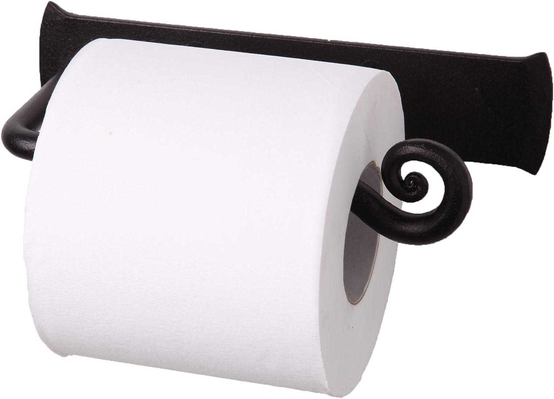 Handcrafted D/écor RTZEN Wrought Iron Swirl 4 Rolls Storage Toilet Paper Stand Free Standing TP