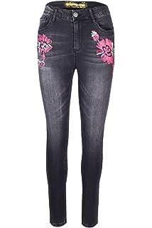 Desigual Habana FloresJeansshorts für Damen