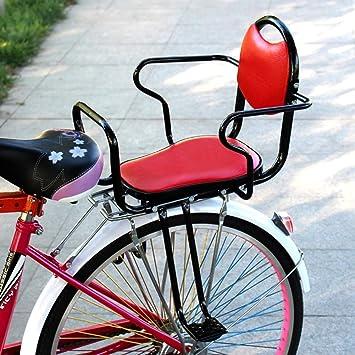 Joyfitness Bicicleta eléctrica para niños Asiento Trasero Silla de ...