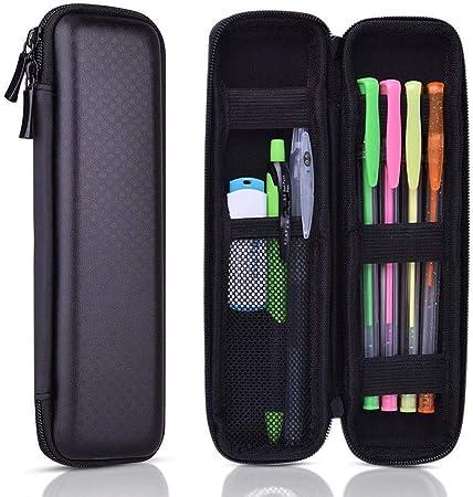 Bolsa de Aprendizaje,Estuche de lápices EVA Simple, Caja de Almacenamiento de papelería con Cremallera,para Adultos, niños, niñas: Amazon.es: Hogar