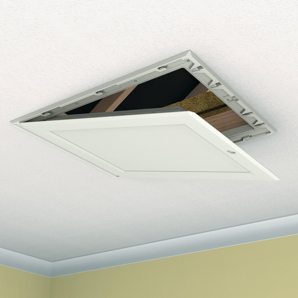 & Drop Down Loft Access Hatch by Manthorpe - - Amazon.com