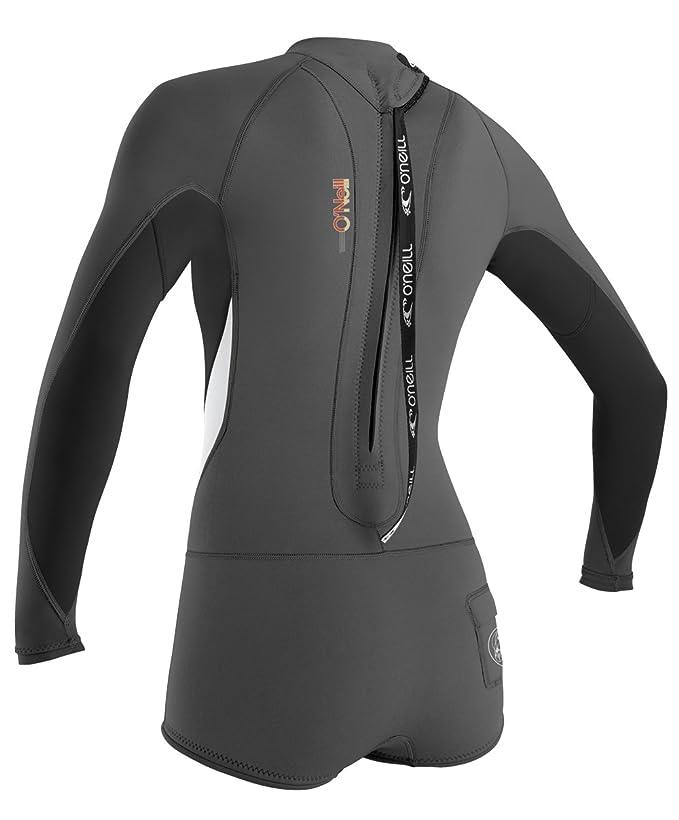 O Neill Women s Bahia Long Sleeve Short Spring Wetsuit 1514b9547