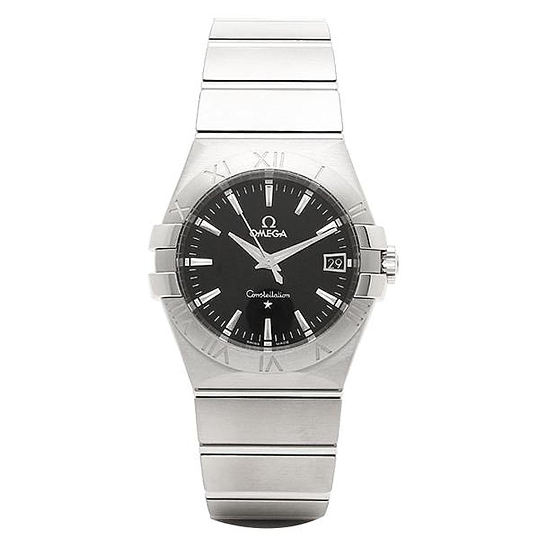 (オメガ) OMEGA オメガ 時計 メンズ OMEGA 123.10.35.60.01.001 CONSTELLATION コンステレーション クオーツ 腕時計 ウォッチ シルバー/ブラック [並行輸入品] B019633WVU