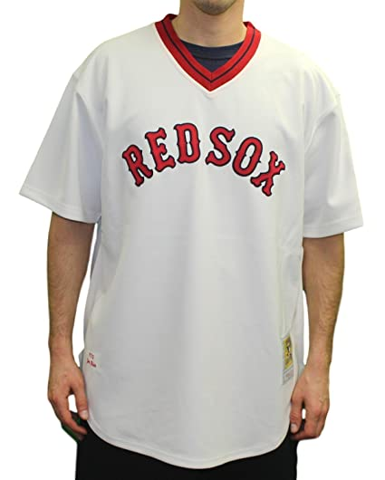 a943392bf Mitchell & Ness Jim Rice Boston Red Sox MLB Authentic 1975 Jersey - 2XL/52