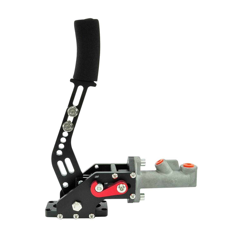 Freno a mano idraulico Fly Off leva regolabile in lunghezza nero .