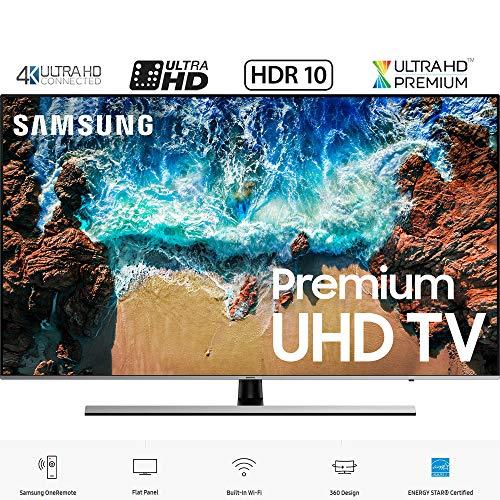 Samsung UN65NU8000 65' NU8000 Smart 4K UHD TV (2018 Model) (Certified Refurbished)