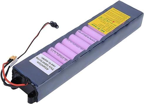 DAUERHAFT Batteria al Litio, 36V 7800mAh Batteria al Litio Ricaricabile di Ricambio