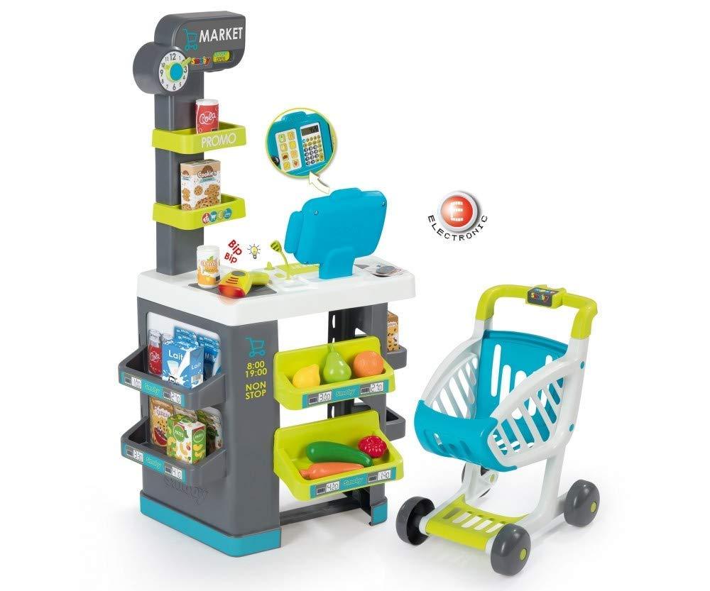 Smoby 350212 Pretend Play Supermarket - Supermercado de Juguete: Amazon.es: Juguetes y juegos